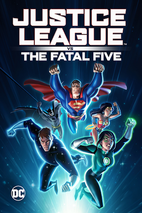 Justice League vs the Fatal Five [2019 USA Movie] Animation