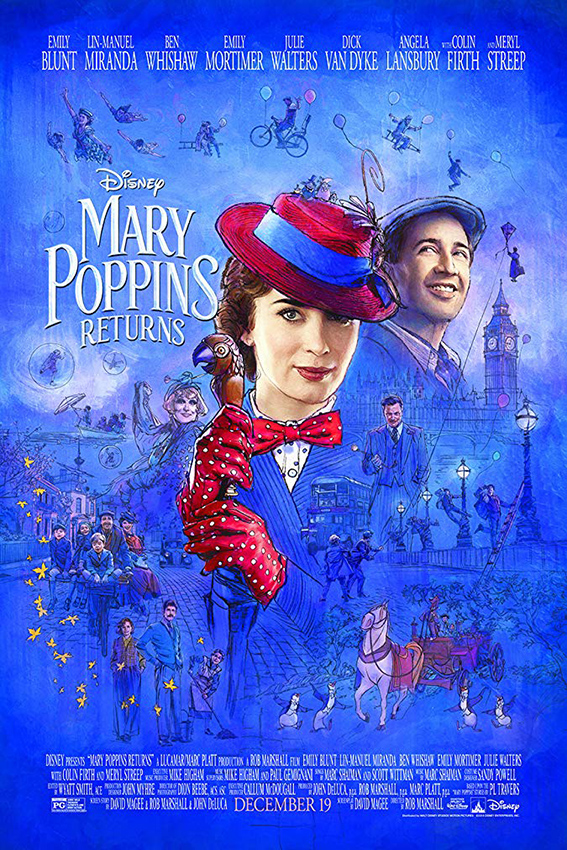 Mary Poppins Returns [2018 USA Movie] Comedy, Family, Fantasy
