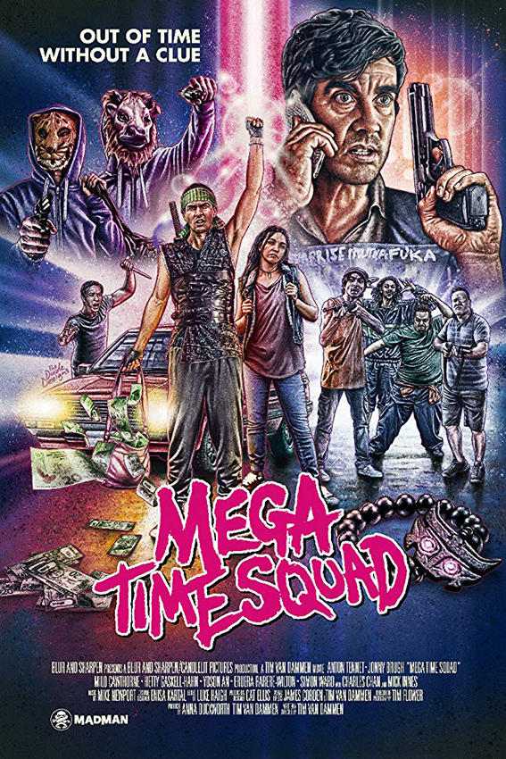 Mega Time Squad [2018 New Zealand Movie] Action, Comedy