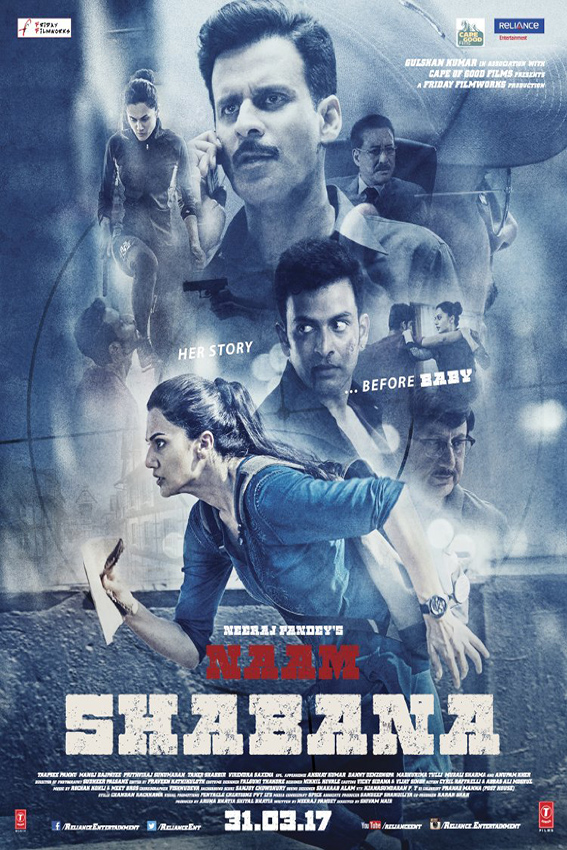 Naam Shabana [2017 India Movie] Hindi, Action, Thriller