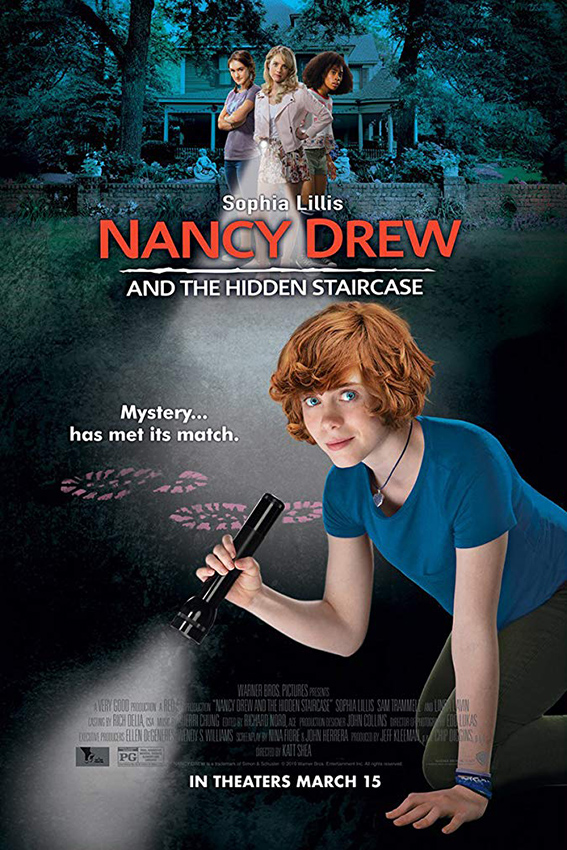 Nancy Drew and the Hidden Staircase [2019 USA Movie] Crime, Drama, Family