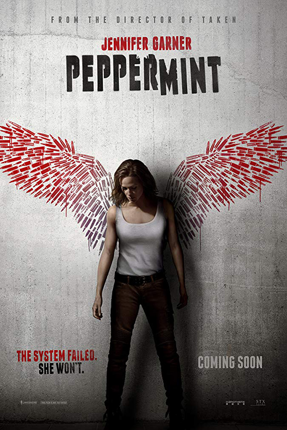Peppermint [2018 USA, Hong Kong Movie] Action, Crime, Drama