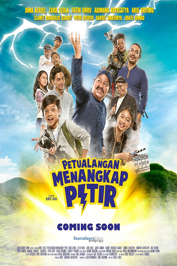 Petualangan Menangkap Petir [2018 Indonesia Movie] Drama, Family