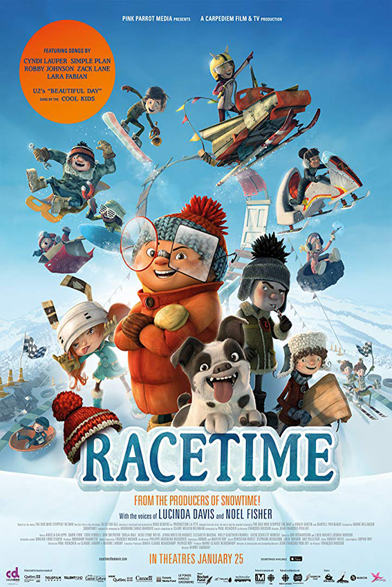Racetime [2018 Canada Movie] Animation, Family
