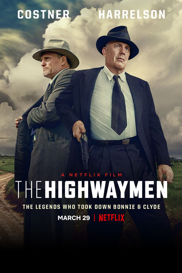 The Highwaymen [2019 USA Movie] Crime, Mystery