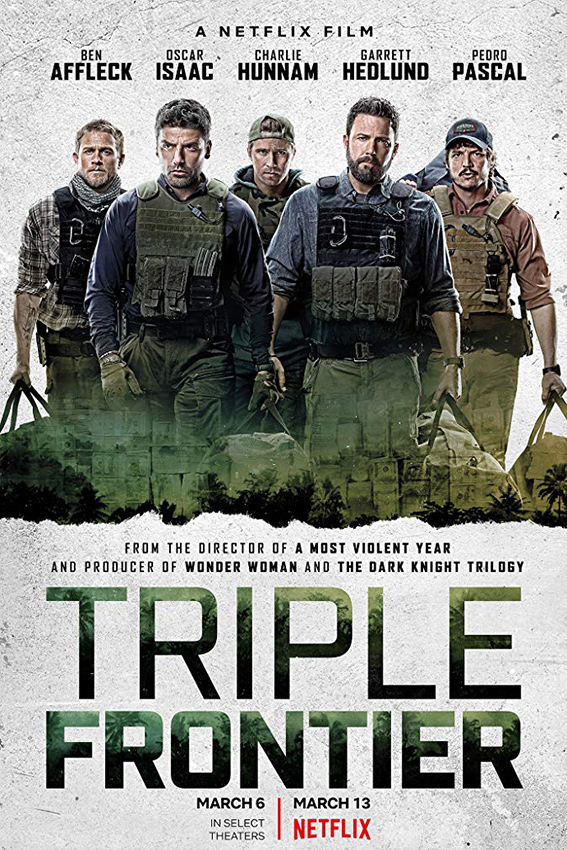 Triple Frontier [2019 USA Movie] Action, Crime