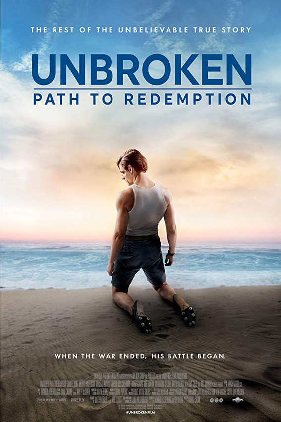 Unbroken: Path to Redemption [2018 USA Movie] Drama, True Story