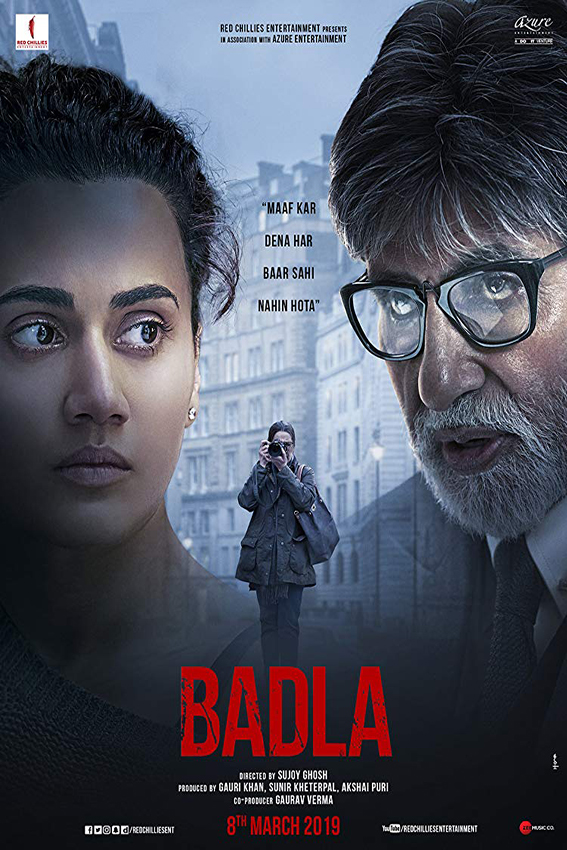Badla [2019 India Movie] Hindi, Drama, Thriller, Mystery