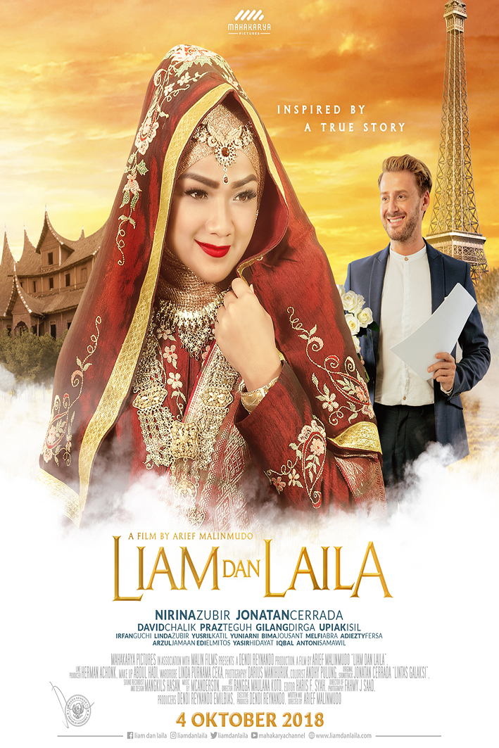 Liam dan Laila [2018 Indonesia Movie] Drama, True Story