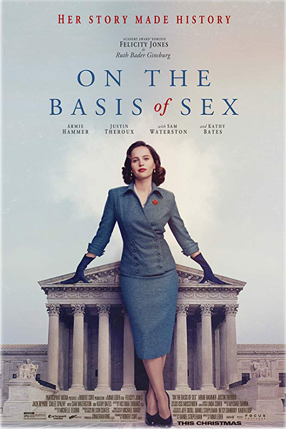 On the Basis of Sex [2018 USA Movie] True Story, Drama