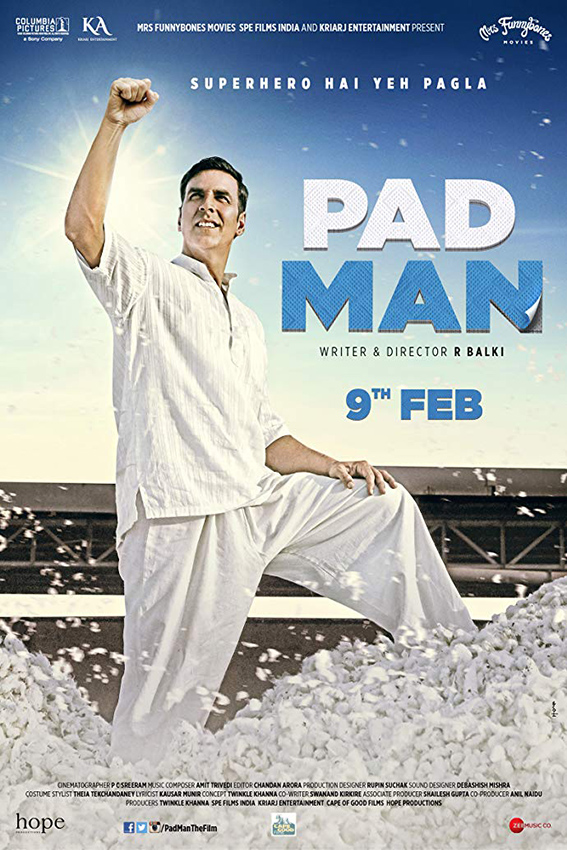 Padman [2018 India Movie] Comedy, Drama, True Story