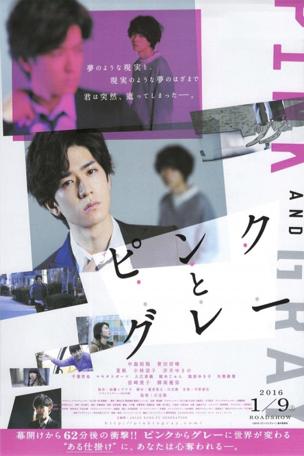 Pink and Gray [2016 Japan Movie] Drama, Thriller