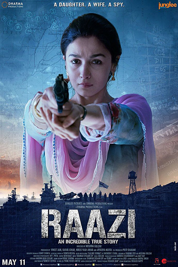 Raazi [2018 India Movie] Action, Thriller, True Story