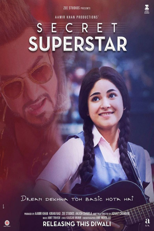 Secret Superstar [2017 India Movie] Hindi, Drama, Musical