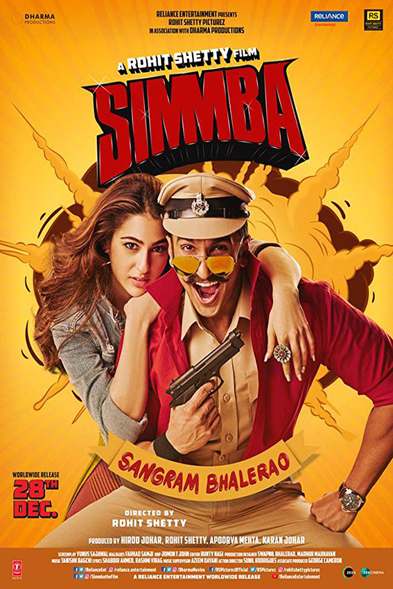 Simmba [2018 India Movie] Hindi, Action, Comedy, Crime