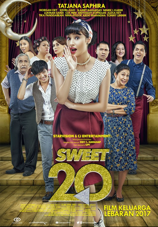 Sweet 20 [2017 Indonesia Movie] Romance, Comedy