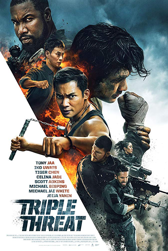 Triple Threat [2019 USA, China, Thailand Movie] Action, Thriller