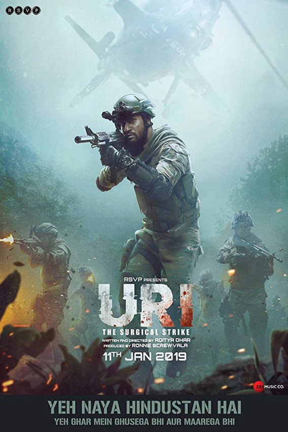 Uri: The Surgical Strike [2019 India Movie] Hindi, Action, War