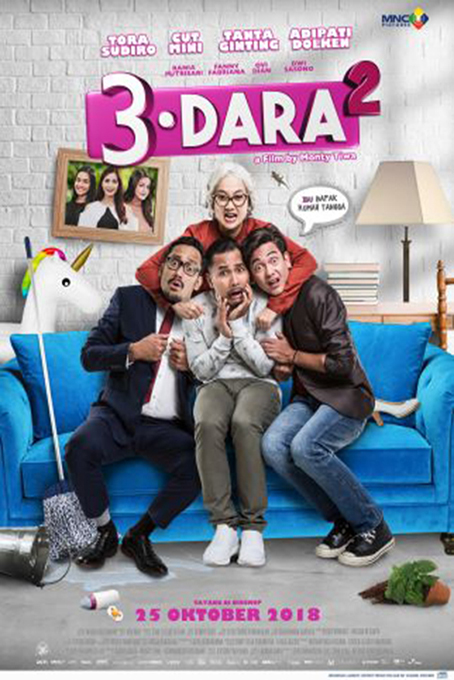 3 Dara 2 [2018 Indonesia Movie] Comedy, Drama