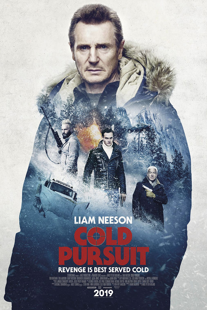 Cold Pursuit [2019 UK, Norway, Canada, USA, France Movie] Action, Crime, Thriller