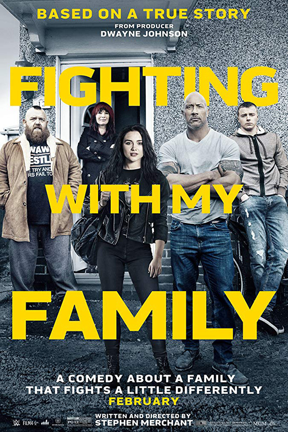 Fighting with My Family [2019 USA, UK Movie] Drama, Sport, True Story