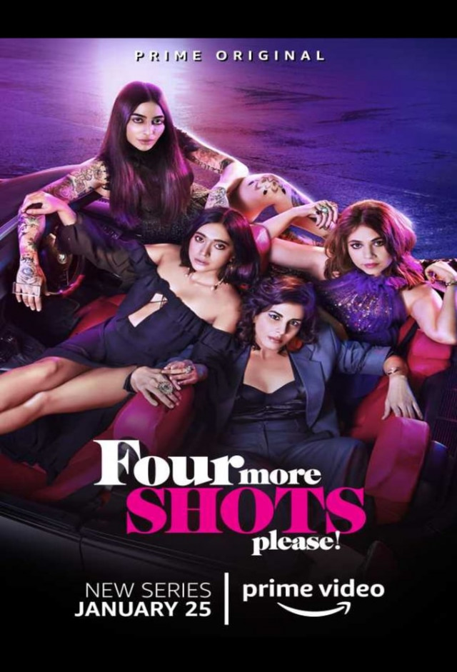 Four More Shots Please! [2019 India Movie] 10 episodes END (2) Hindi, Drama, Comedy
