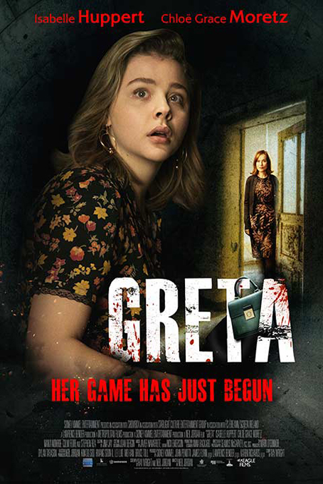 Greta [2019 USA Movie] Thriller, Drama