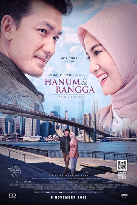 Hanum & Rangga: Faith & The City [2018 Indonesia Movie] Drama, Romance
