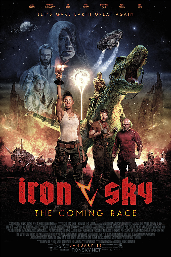 Iron Sky 2: The Coming Race [2019 Finland, Germany, Belgium Movie] Action, Fantasy, Sci Fi