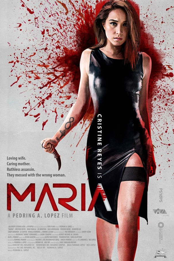Maria [2019 Philippines Movie] Action, Crime