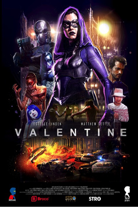 Valentine: The Dark Avenger [2019 Indonesia Movie] Action