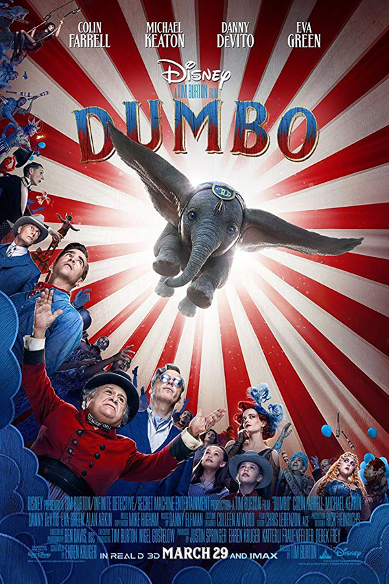Dumbo [2019 USA Movie] Adventure, Family, Fantasy