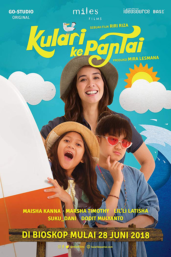 Kulari Ke Pantai [2018 Indonesia Movie] Drama, Family
