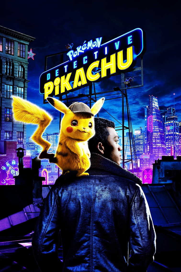 Pokemon Detective Pikachu [2019 USA, Japan, Canada Movie] Action, Comedy