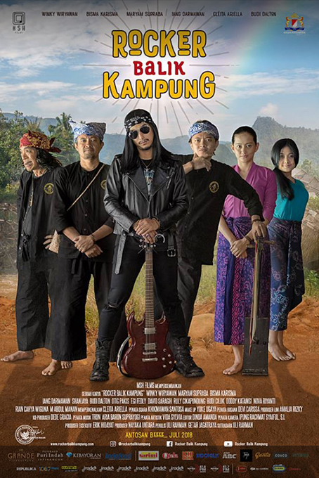 Rocker Balik Kampung [2018 Indonesia Movie] Comedy, Drama