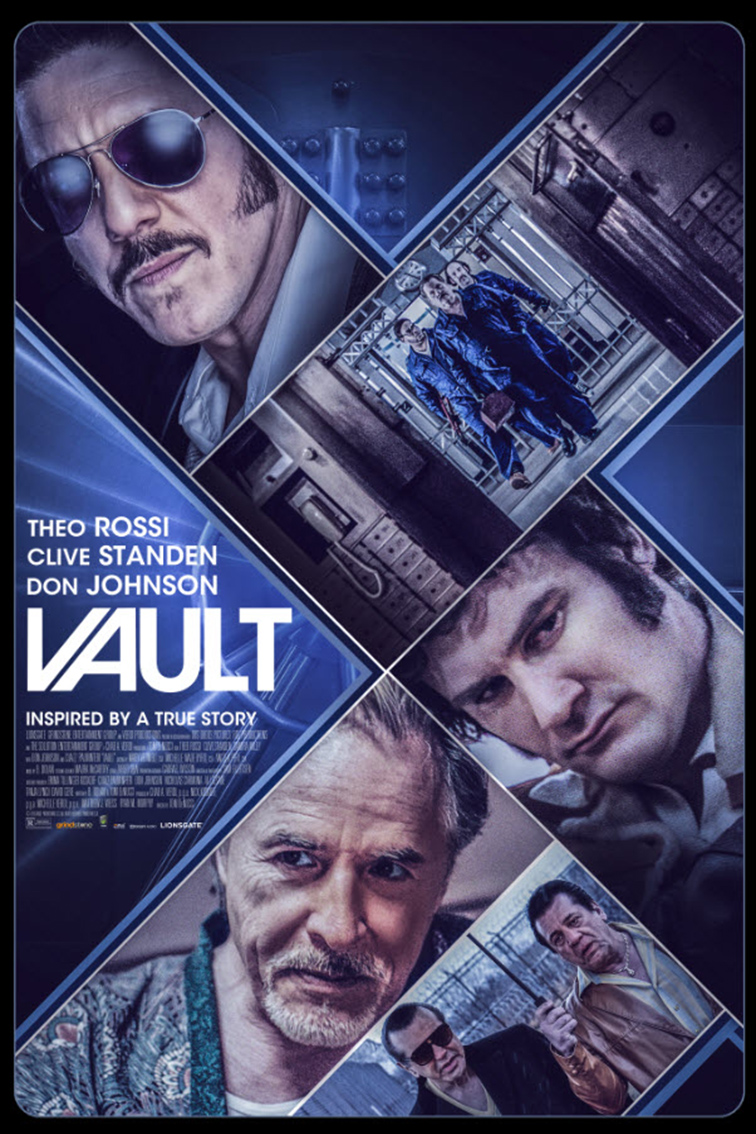 Vault [2019 USA Movie] Crime, Drama