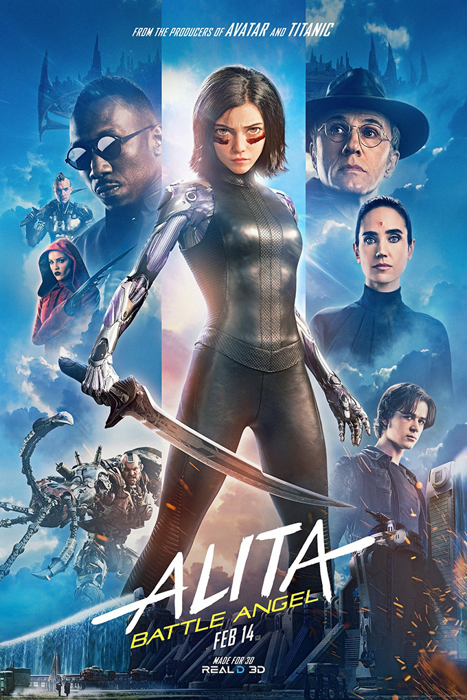 Alita: Battle Angel [2019 USA Movie] Action, Adventure, Sci Fi