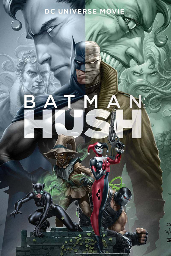 Batman Hush [2019 USA Movie] Animation