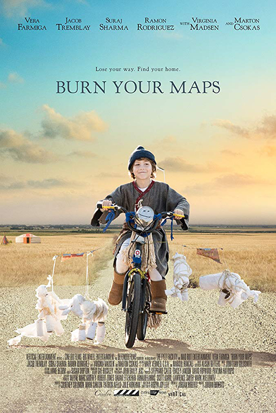 Burn You Maps [2016 USA Movie] Adventure