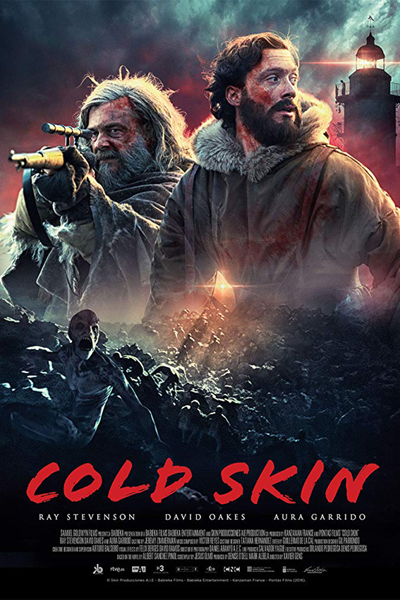 Cold Skin [2018 Spain, France Movie] English, Adventure, Horror, Sci Fi