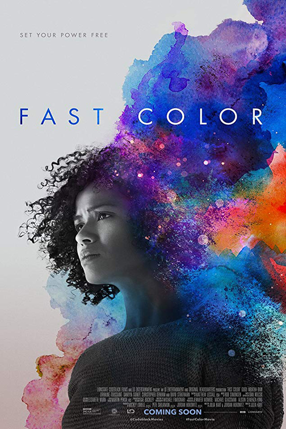 Fast Color [2019 USA Movie] Drama, Sci Fi, Thriller