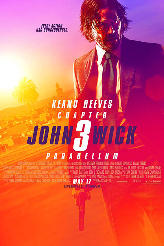 John Wick Chapter 3: Parabellum [2019 USA Movie] Action, Thriller