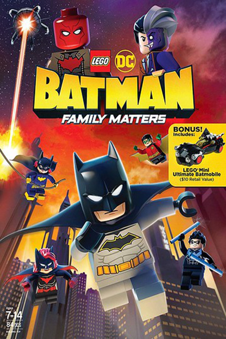 LEGO DC Batman Family Matters [2019 USA Movie] Animation, Action