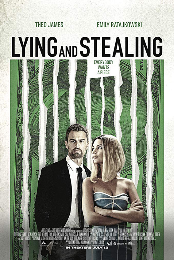 Lying and Stealing [2019 USA Movie] Crime, Drama