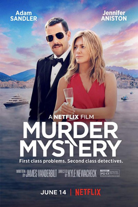 Murder Mystery [2019 USA Movie] Action, Comedy, Mystery