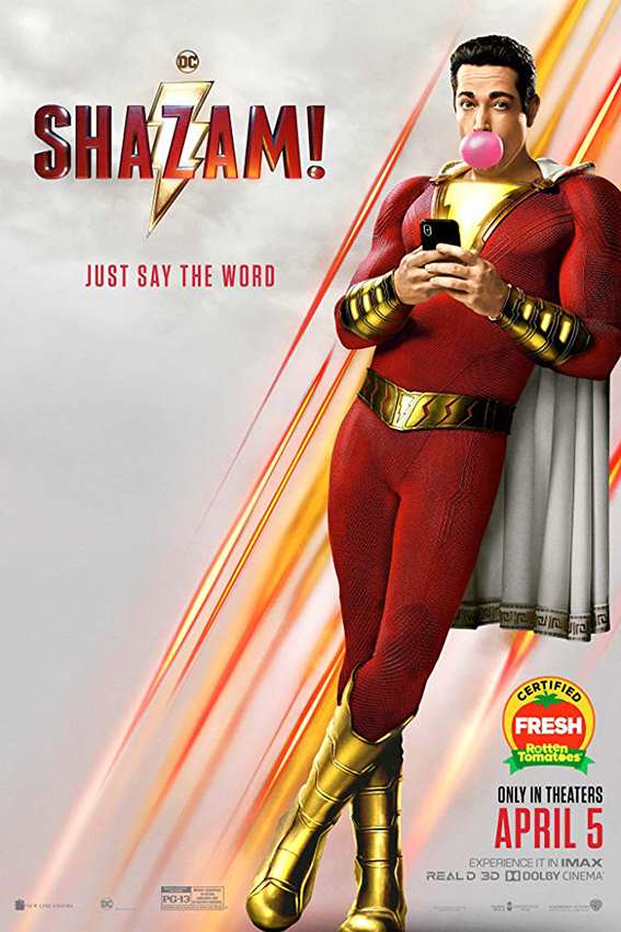 Shazam [2019 English Movie] Action, Adventure