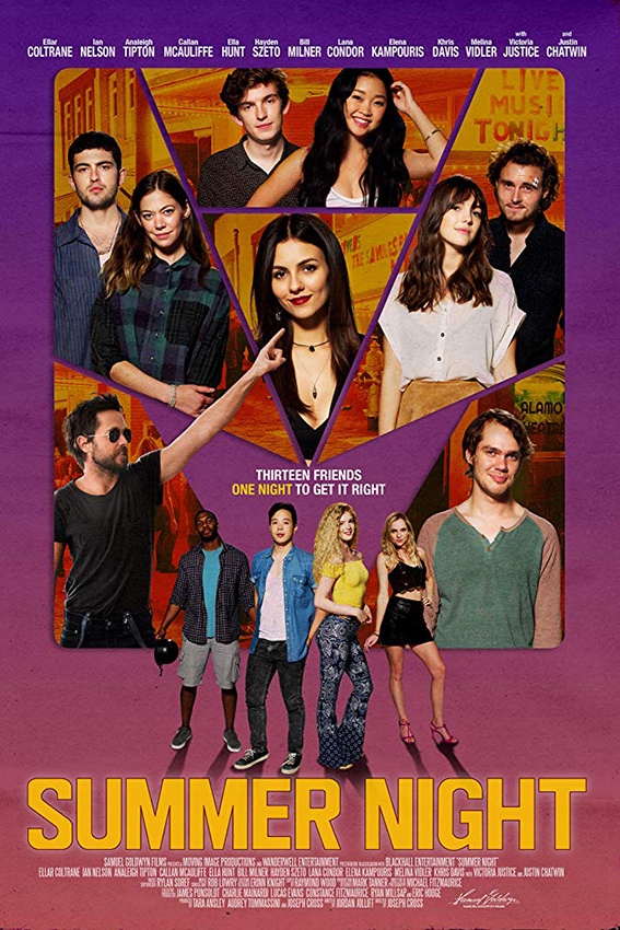 Summer Night [2019 USA Movie] Comedy, Drama
