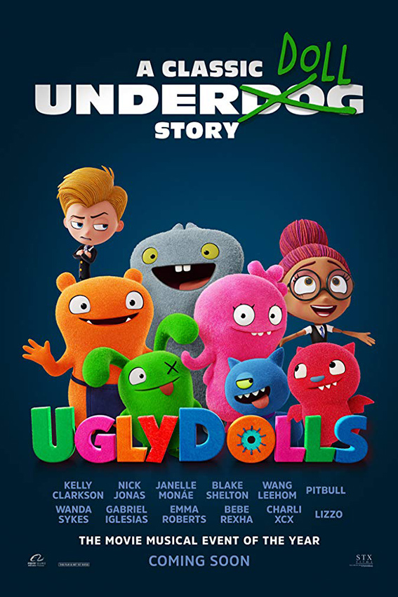 Uglydolls [2019 USA Movie] Animation, Family