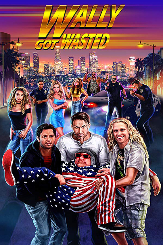 Wally Got Wasted [2019 USA Movie] Comedy