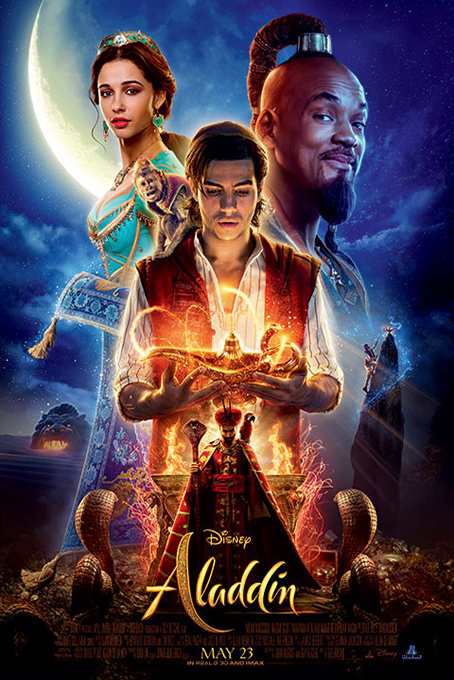 Aladdin [2019 USA Movie]  Adventure, Comedy, Family